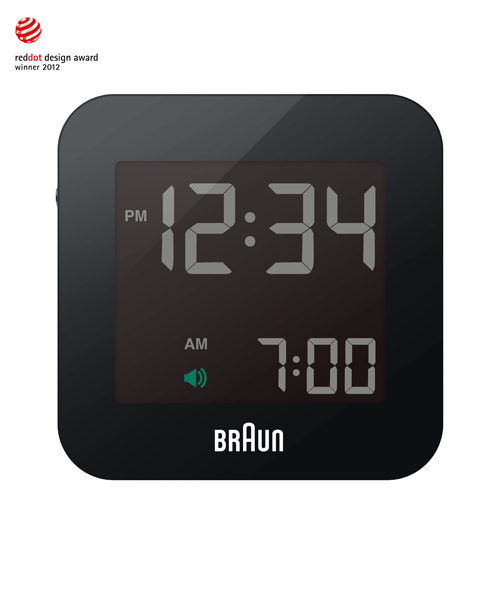BRAUN Digital Clock BNC008BK-RC