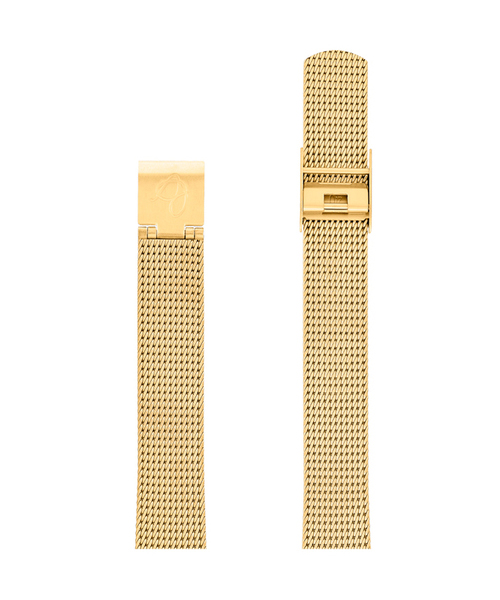 ARNE JACOBSEN Watch Mesh Strap Yellow Gold